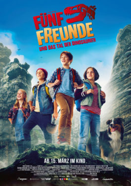 Fünf Freunde und das Tal der Dinosaurier Poster
