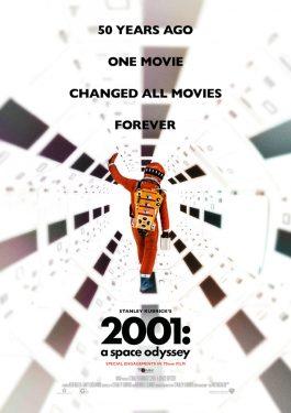 2001 - Odyssee im Weltraum (70mm) Poster