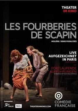 La Comédie-Française: Les Fourberies de Scapin (Scapins Streiche) Poster