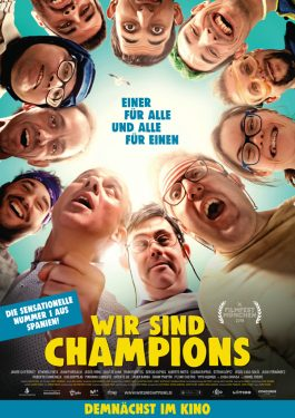 Campeones - Wir sind Champions Poster