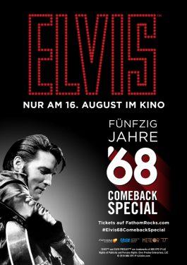Elvis '68 Comeback Special Poster