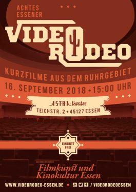 8. Essener Video Rodeo Poster
