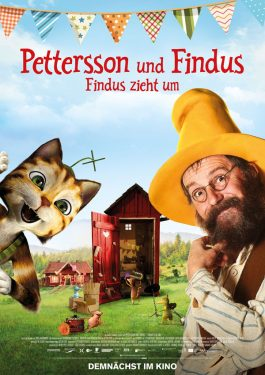 Pettersson & Findus 3 - Findus zieht um Poster