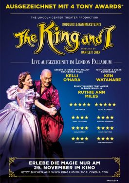 The King and I - The Musical Poster