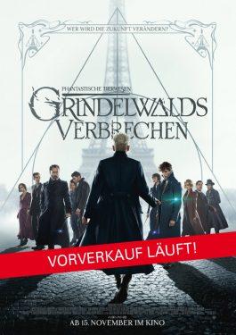 Phantastische Tierwesen: Grindelwalds Verbrechen Poster