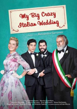 My Big Crazy Italian Wedding Poster