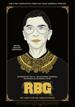 RBG - Ein Leben für die Gerechtigkeit Poster