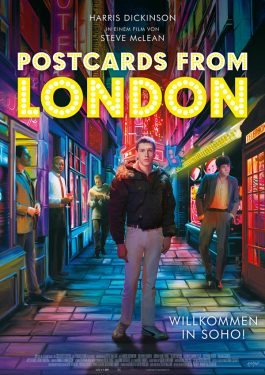 Postcards from London Poster