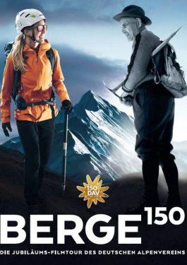 BERGE150 - Die Jubiläums-Filmtour des deutschen Alpenvereins Poster