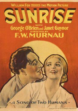 Sonnenaufgang - Lied von zwei Menschen Poster