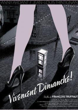 Vivement dimanche! - Auf Liebe und Tod Poster