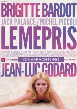 Le mépris - Die Verachtung Poster