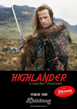 Highlander (35mm) Poster