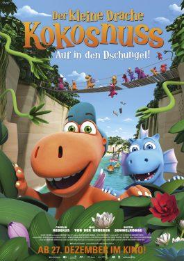 Der kleine Drache Kokosnuss - Auf in den Dschungel! Poster