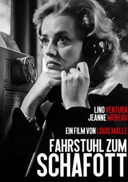 L' ascenseur pour l'échafaud - Fahrstuhl zum Schafott Poster
