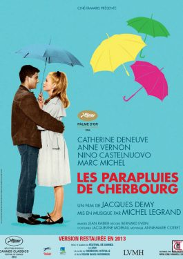 Les parapluies de Cherbourg - Die Regenschirme von Cherbourg Poster