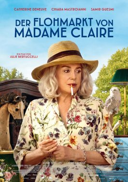 Der Flohmarkt von Madame Claire Poster