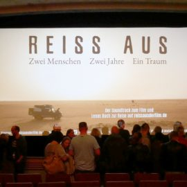 Film & Gespräch: Reiß aus - Zwei Menschen. Zwei Jahre. Ein Traum Bildergalerie Poster