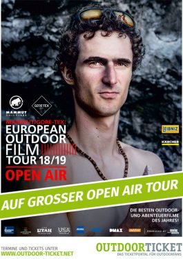 E.O.F.T. European Outdoor Film Tour Poster