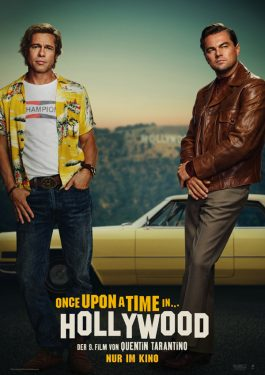 Once Upon A Time ... In Hollywood Poster