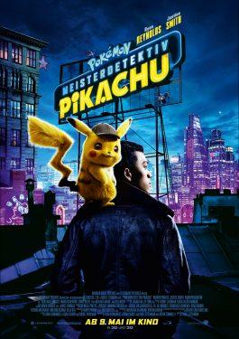 Pokémon Meisterdetektiv Pikachu Poster