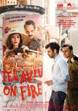 Tel Aviv on Fire Poster