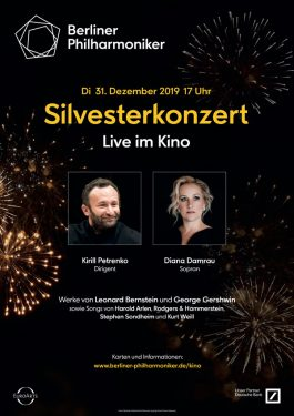 Berliner Philharmoniker Silvesterkonzert Poster