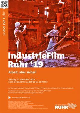 IndustrieFilm Ruhr '19 - Programm 1 Poster