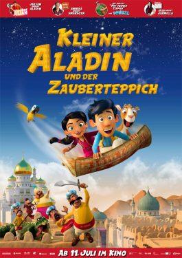 Kleiner Aladin und der Zauberteppich Poster