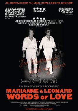 Marianne & Leonard -  Words of Love Poster