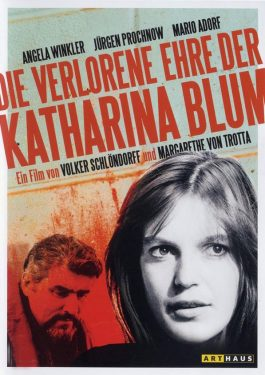 Die verlorene Ehre der Katharina Blum Poster
