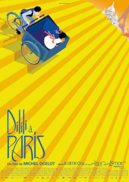 Dilili in Paris Poster