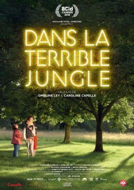Dans la terrible jungle Poster