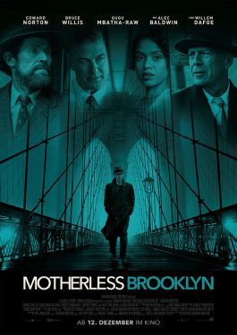Motherless Brooklyn Poster