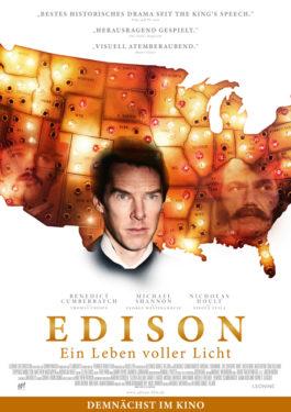 Edison - Ein Leben voller Licht Poster