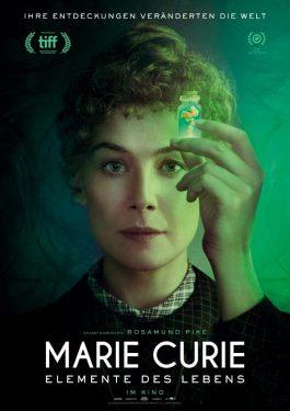 Marie Curie - Elemente des Lebens Poster
