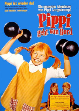 Pippi geht von Bord Poster
