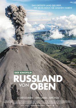Russland von oben Poster