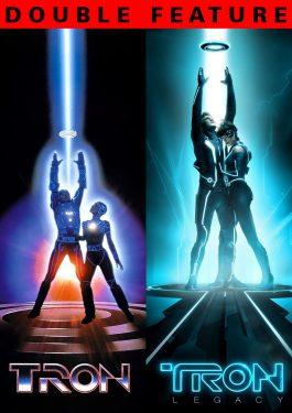 Double Feature: Tron & Tron Legacy (3D) Poster