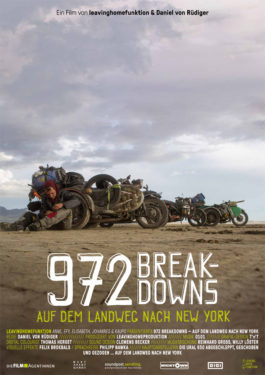 972 Breakdowns - Auf dem Landweg nach New York Poster