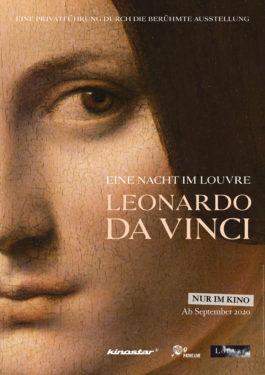 Eine Nacht im Louvre: Leonardo da Vinci Poster