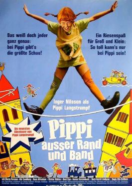 Pippi außer Rand und Band Poster