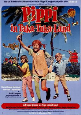 Pippi in Taka Tuka Land Poster