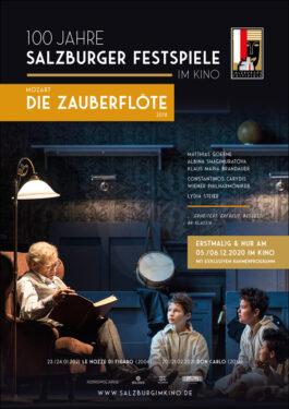 Salzburg im Kino: Mozart - Die Zauberflöte (2018) [Abgesagt] Poster