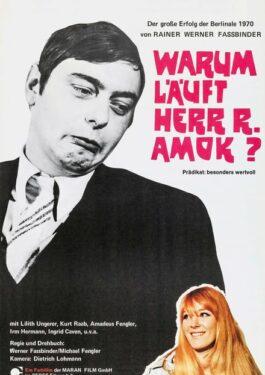 Warum läuft Herr R. Amok? Poster