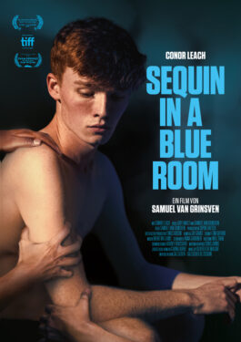 Sequin in a Blue Room Poster
