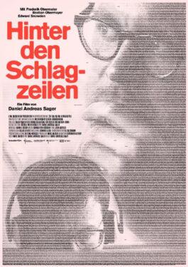 Hinter den Schlagzeilen Poster