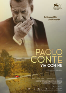 Paolo Conte - Via Con Me Poster