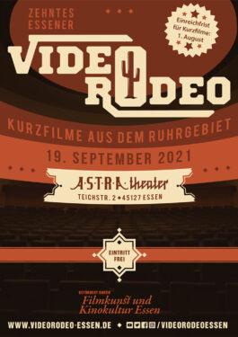 10. Essener Video Rodeo Poster
